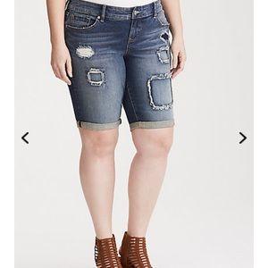torrid Jeans - NWT Torrid 18W Deconstructed Bermuda Shorts
